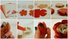 paper roses DIY
