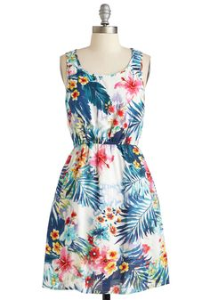 Seal It With a Hibiscus Dress