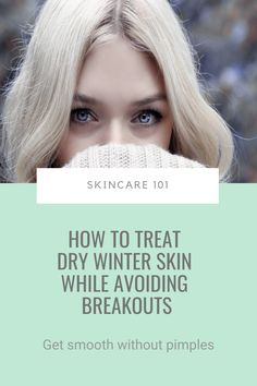 As the temperatures plunge down and freezing winds hit your face, your skin turns into a dry and flaky mess. Ugh. You throw an arsenal of facial oils, balms and rich creams at it to try and fix it, but now your skin's breaking out like crazy, too. Double ugh. Here's how to treat dry winter skin while avoiding breakouts... #breakouts #dryskin #oilyskin #winterskin Acne Prone Skin, Oily Skin, How To Get Rid Of Acne, How To Treat Acne, Facial Oil, Pimples, Arsenal, The Balm, Skin Care