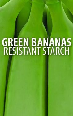 Use the resistant starch found in unripe Green Bananas to keep yourself full and satisfied longer, preventing a buildup of excess fat in your body. http://www.recapo.com/dr-oz/dr-oz-diet/dr-oz-use-green-bananas-to-burn-fat-faster-with-resistant-starch/