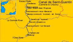 Verlaufsskizze des Kanals