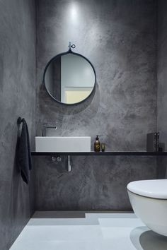 Modern Scandinavian Bathroom Interior In White - Interior Design Ideas & Home De. Modern Scandinavian Bathroom Interior In White – Interior Design Ideas & Home Decorating Inspirat Bad Inspiration, Bathroom Inspiration, Bathroom Ideas, Cloakroom Ideas, Bathroom Designs, Bathroom Interior, Modern Bathroom, Loft Bathroom, Modern Sink