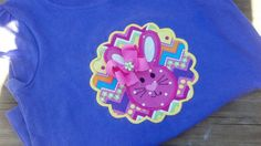 Cute Purple Easter Bunny Shirt/ Children Girls by Prettyinpinkbiz, $22.00