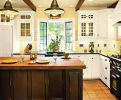 This will be my kitchen someday... when I have lots of extra money! :)  This is the one!