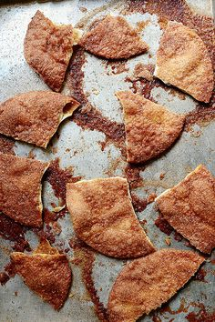 Cinnamon Crisps. SO easy to make with low carb wraps and Splenda