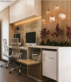 Why the Home Office Furniture You Use Matters Small Office Design, Home Office Design, Home Office Decor, Home Decor Bedroom, Modern Home Offices, Small Home Offices, Home Office Closet, Condo Living, Architecture Office