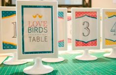 Tolsby Frame White Table Number Picture Frame | Recycled Bride