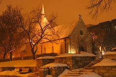 St. Joan of Arc Chapel - This is one of my favorite photos of this chapel.