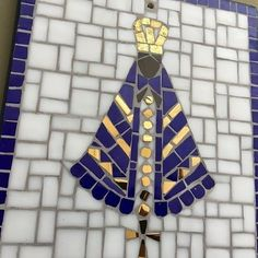 Tile Art, Mosaic Art, Harmony Art, Summer Crafts, Animals And Pets, Stained Glass, Catholic, Artsy, Santa