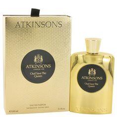 Oud Save The Queen By Atkinsons Eau De Parfum Spray 3.3 Oz NIB #Atkinsons