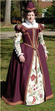 Well constructed, lovely, Elizabethan Gown