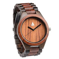 The allwooden watch is equipped with high quality Japan quartz movement and stainless steel tri-fold clasp with push buttons. Diameter of the dial 1.7 inches. Strap and case are made of 100% wood with redwood framed with beautiful dark Ebony. 100% WOOD – This analog watch is totally Earth-friendly. It …