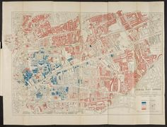 1901 map of Jewish East London  1901: Jewish East London Influenced by Charles Booth's 'poverty map', this shows the density of the Jewish population in east London after a decade of pogroms in eastern Europe Photograph: British Library