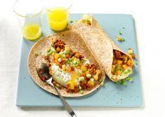 Veg Chorizo y Papas Breakfast Burritos   Vegetarian Times