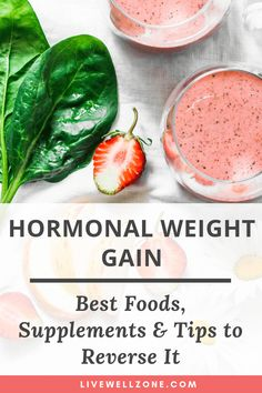 Want to get rid of weight gain caused by hormones and keep it off for good? Get tips on the best foods, supplements and habits to reverse it. Low Fat Diets, Low Carb Diet, Weight Loss Meals, Healthy Weight Loss, Best Weight Loss Foods, Foods To Lose Weight, Extreme Weight Loss, Quick Weight Loss Diet, Loosing Weight