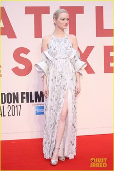 Emma Stone Lands Louis Vuitton Deal, Debuts 'Battle of the Sexes' in London!