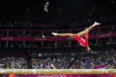 Gabrielle Douglas scythes through the air