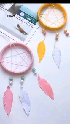 Diy Crafts For Home Decor, Diy Crafts Hacks, Diy Crafts For Gifts, Diy Crafts For Bedroom, Creative Crafts, Diys, Cool Paper Crafts, Paper Crafts Origami, Yarn Crafts