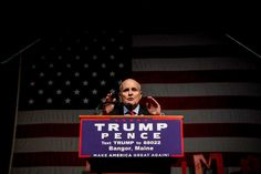 Former New York City mayor Rudy Giuliani speaks at a rally for Republican presidential candidate Donald Trump at Cross Insurance Center on Saturday in Bangor, Maine.