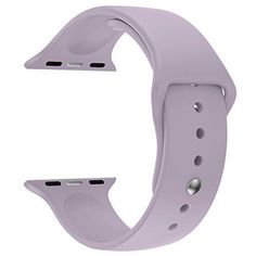 Apple Watch Band iSTYLE TPU Strap Soft Silicon Replacement Sport Band for Apple Watch iWatch - 38MM TPU Large Lavender