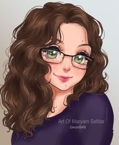 Another Pretty Gamer by on DeviantArt Character Design Animation, Character Art, Girl Cartoon, Cartoon Art, Curly Hair Drawing, Digital Art Girl, Beautiful Anime Girl, Cute Characters, Anime Art Girl