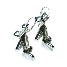 Mary Jane Doll Shoe Earrings, $179, now featured on Fab.