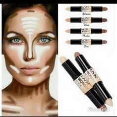 MakeupbyCamila: CONTORNO E ILUMINACIONES/COMO HACERLO/QUÉ USAR.