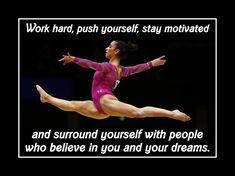 Gymnastics Wall Art gymnastics wall art motivation poster daughter wall decor aly