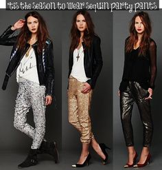 sequin glitter party pants _ glitterinc.com