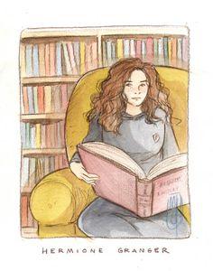 Hermione Granger by Marta