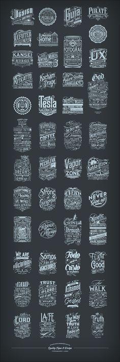 Some Logo | Typography :) www.tomaszbiernat.us #typography #logo #typografia #inspiration #design #type #design #inspiracje #home #homedecor #tshirt #poster #typographyposter