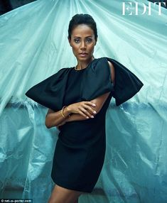 Jada Pinkett Smith, 42, has been given a seriously slick makeover for The Edit's latest edition http://dailym.ai/UFxl4O