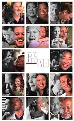 Grey's Anatomy Happiness & Heartache for all ❤️↔️
