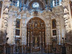 La sacristía de la Cartuja de Granada, España, de Narciso Tomé (1690-1742) (estilo barroco español)