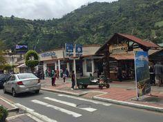 De straten van Baños