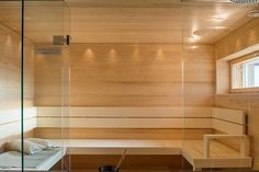 7 Passiivikivitalo Leija - Sauna Alcove, Divider, Bathtub, Bathroom, Furniture, Home Decor, Standing Bath, Washroom, Bathtubs