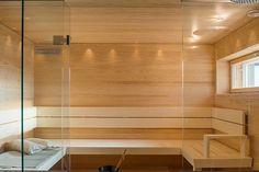 7 Passiivikivitalo Leija - Sauna