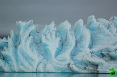 Mesmerizing Striped Icebergs: Ageless beauties of the Frozen World ~ Amazing World Online