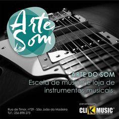 Já conhece o nosso novo parceiro?   Arte do Som   Escola de música e loja de instrumentos musicais   Visite já em: http://ift.tt/2m5lahg