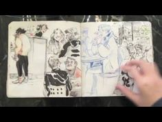 Vanessa's CalArts Sketchbook 2016 (Accepted) - YouTube