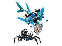 Lego Bionicle, Akida, la criatura del agua. Contiene 120 piezas.