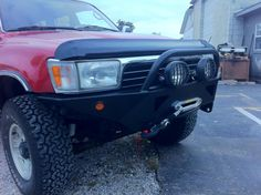 The perfect combination of CBI quality and a hands on experience. Save some money and spark your creativity with our DIY gen bumper. Toyota Surf, Washer Fluid, Winch Bumpers, Windshield Washer, Flat Tire, Toyota 4runner, Offroad, Jeep, Monster Trucks