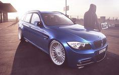 BMW E91 by Lopi-42.deviantart.com on @deviantART E91 Touring, Bmw 7, Honda Crx, Bmw Wagon, Bmw Alpina, High Performance Cars, Bentley Continental Gt, Gt Cars, City Car