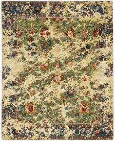 Bidjar Kingscross Double Sky - extraordinary rugs by JAN KATH