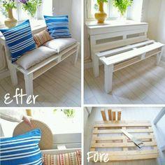 Wooden veranda creativo : Reciclado creativo on Pinterest Autos, Doll House Beds and Retro ...