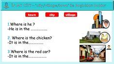 Sınıf İngilizce My Home In My City Transporter City, Cities