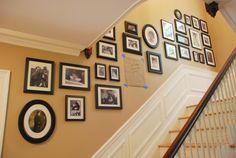 Aprende cómo decorar las paredes de tus escaleras o pasillos paso a paso...