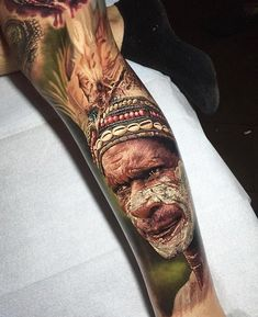 Tattoo artist Steve Butcher photorealistic color realism tattoo, portrait | Тату-мастер Steve Butcher фотореалистичные цветные татуировки , портретный реализм   #inkpplcom #inkppl #inkedpeople #inked #ink #inktattoo #tattoo #tatts #tattooartist #tattooing #tattoos #tattooist #art #artist #tattooed #татуировка #тату #realism #portrait  #colortatoo #realistictattoo #colors #portraittattoo #colorportrait #colortattoo #realismtattoo #realismportrait