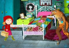 Little Red Riding Hood by Nosy Crow - 10 of the year's top apps for kids