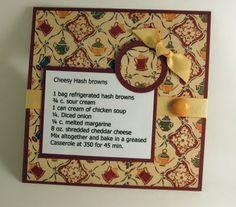 Cheesy Hashbrowns recipe card